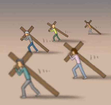 Take Up Your Cross And Follow Jesus The Jesus Site